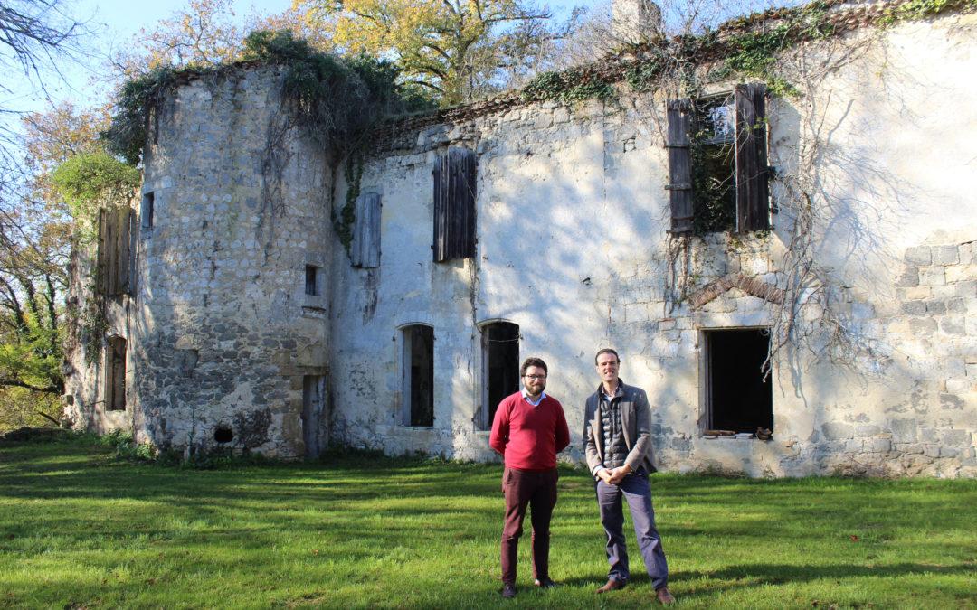 Ils veulent redonner vie au Château de Saint Martin de Nérac